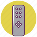 ac, buttons, control, infrared, remote tv, settings, streamline icon