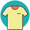clothes, clothing, fashion, shirt, t-shirt, tshirt, wear icon