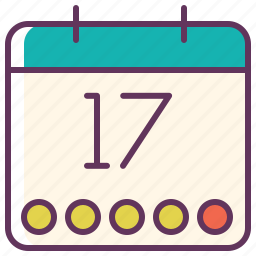 calendar, date, day, event, graficheria, month, schedule icon