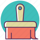 brush, color, construction, paint, paintbrush, painting, tool icon