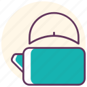 caldron, kettle, kitchen, object, tea, teapot, water icon