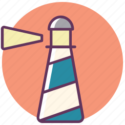 beacon, building, castle, lighthouse, smeaton tower, tower icon