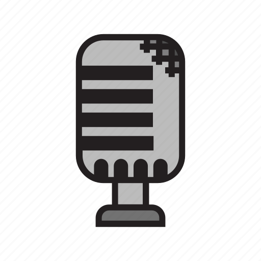 Classic, mike, speech, voice icon - Download on Iconfinder