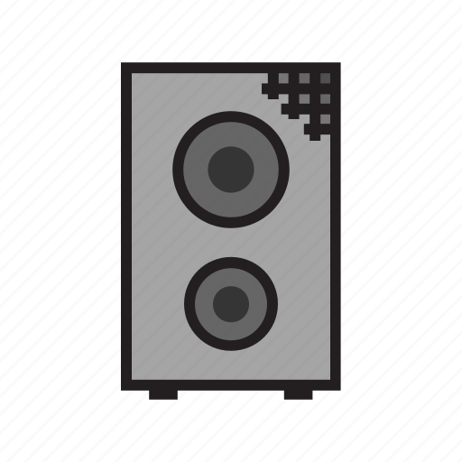amp, amplifier, band, speaker icon