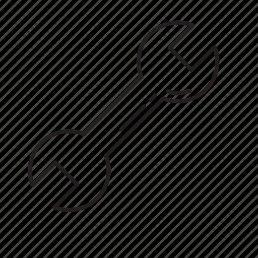 screw tight, tool icon