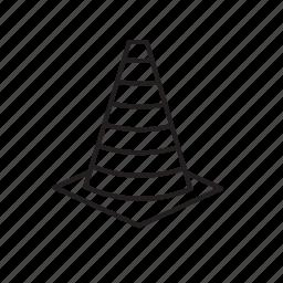 cone, cones, traffic cone icon