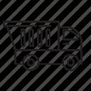 cement truck, truck icon