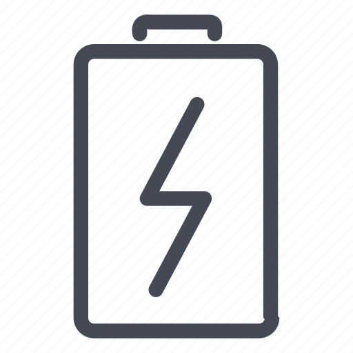 battery, charge, electricity, power icon