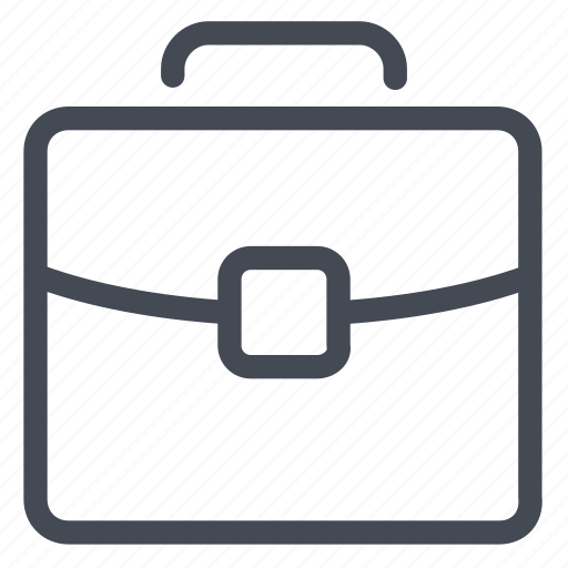 briefcase, business, case, document, work icon