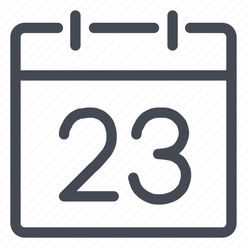 calendar, daily, date, day, number, schedule icon