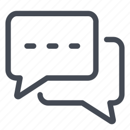 bubble, chat, communication, conversation, discussion, talk, writing icon