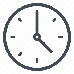 clock, hour, minute, schedule, time, timer, watch icon