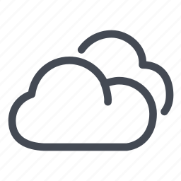 clouds, data, documents, files, storage, weather icon