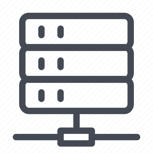 computer, home, network, office, server, station icon