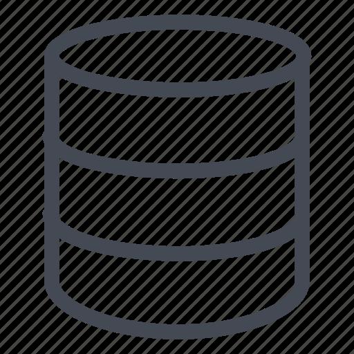 data, database, documents, files, storage icon