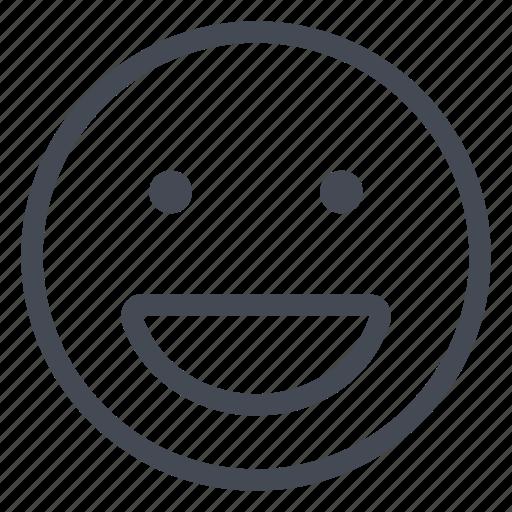 awesome, cheerfully, emoticon, glad, happy, joy, smiley icon
