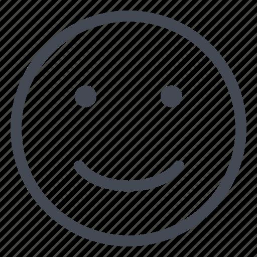 emoticon, happy, joy, satisfied, smile, smiley icon
