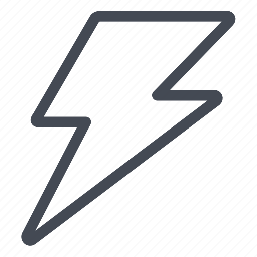 electric, execute, high, stormy, thunder, voltage icon