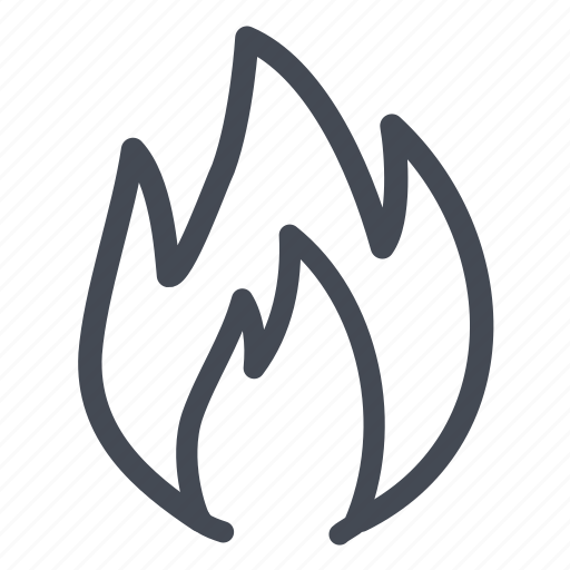 burn, fire, hot, warm icon