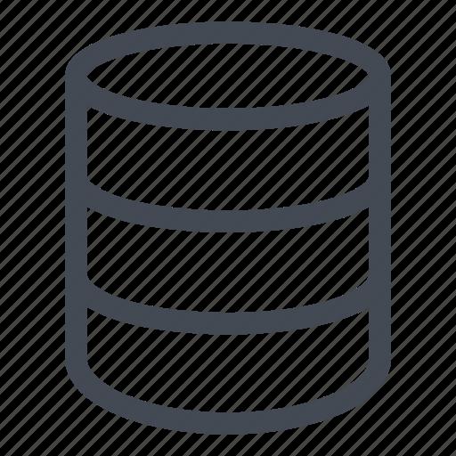 data, database, information, line icon
