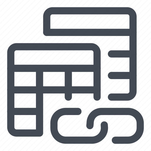 chain, datasheets, dependencies, files, link icon