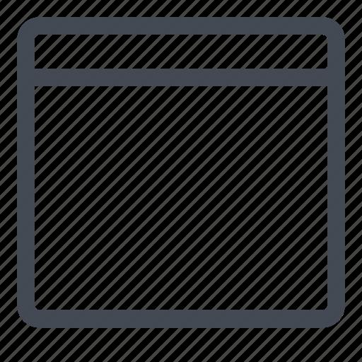 empty, form, line, new icon