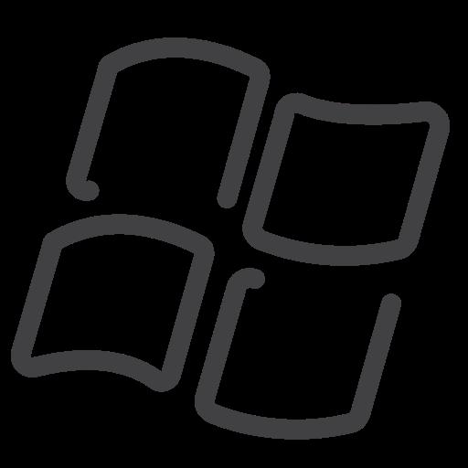 draw, drawn, line, sketch, social media, window, windows icon