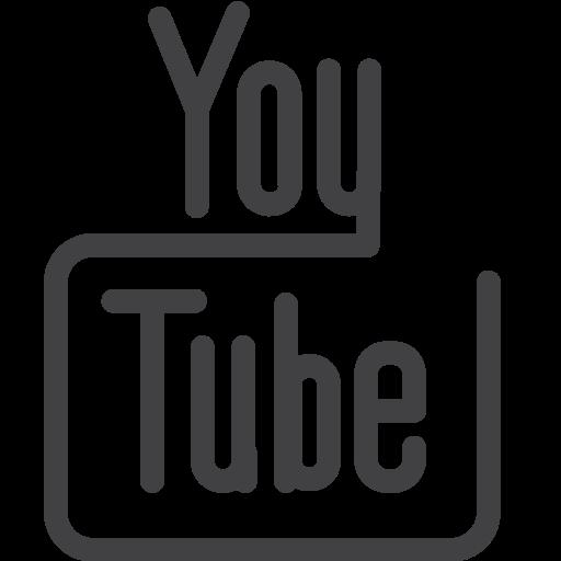 draw, drawn, line, sketch, social media, youtube icon