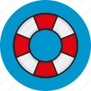 help, internet, lifesaver, support icon