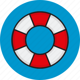 help, internet, lifesaver, support icon