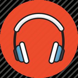 headphone, idea, lesson, music icon