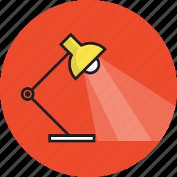 bulb, education, light, work icon