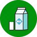 breakfast, food, healthy, milk icon