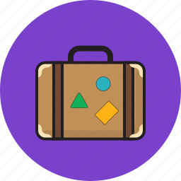 business, suitcase, summer, travel icon