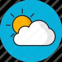 cloud, sky, summer, sun, weather