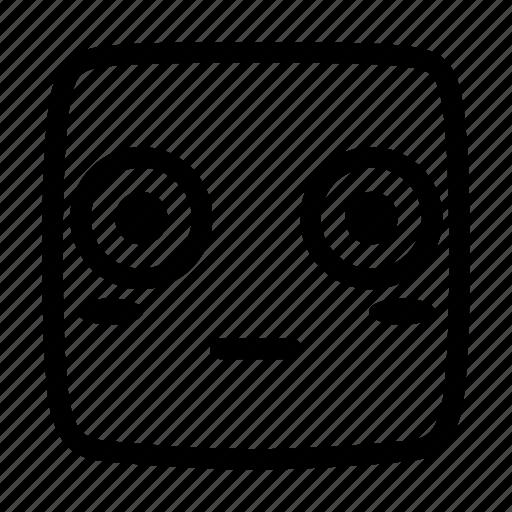 blush, embarrass, emoji, emoticon, emotion, go red, shy icon