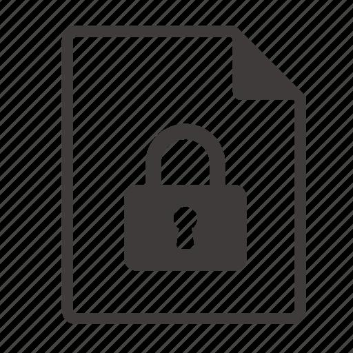 encryption, file icon