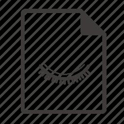 file, hidden icon