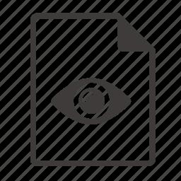 file, show icon