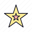 bookmark, favorite, favourite, like, prize, rating, star icon