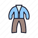 beauty, cloth, clothes, clothing, dress, fashion, suit icon