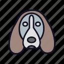 animal, dog, no, no-dog, prohibited, sign, stop icon
