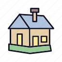 construction, home, house, office, out, out-house, room icon