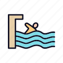 holidays, outdoor, outdoor-pool, outdoors, pool, sport, water icon