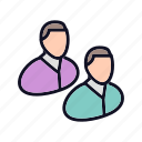 account, business, people, people-x7, team, users, x7 icon