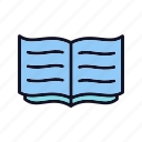 address, book, book-of-record, bookmark, learning, record, study icon