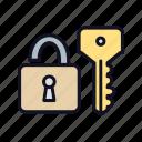 access, password, retro, secrecy, secret, secure, security icon