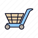bag, buy, delivery, online, sale, shopping, transport icon