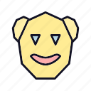 avatar, emoji, emoticons, expression, happy, sad, smile icon