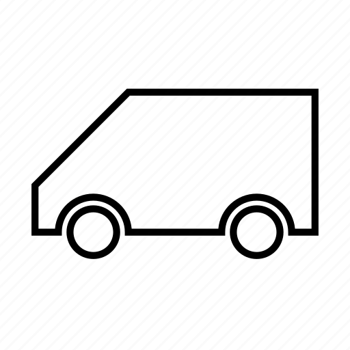traffic, transport, transportation, van, vehicle icon